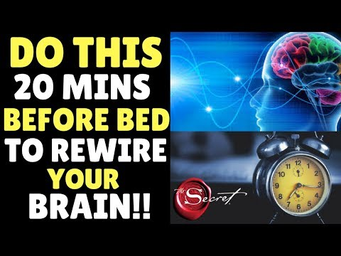 Law of Attraction Sleep Technique to TRAIN YOUR BRAIN TO GET WHAT YOU WANT | Manifest While Sleeping