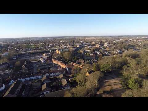 Hatfield House Drone