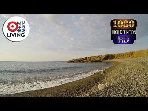 3 HOUR 3D Sound Relaxing Mediterranean Seaside Ocean Waves Stress Relief Relaxation Meditation