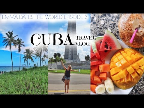 CUBA TRAVEL VLOG | Emma Dates The World Ep. 3
