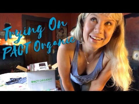 Try On Haul: PACT Organic Eco-Friendly Basics