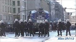 [Demo Ausschreitung] Polizei Hamburg Einsatz am Jungfernstieg