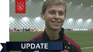 Frenkie de Jong: aanwinst voor Jong Ajax