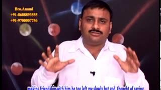Bro.Anand HINDU-BRAMHIN Testimony Part1 (TELUGU & ENGLISH SU...