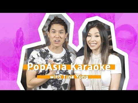 SBS PopAsia Karaoke with Youtube Star Tina Yong