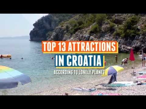 Top 13 Attractions in Croatia according to Lonely Planet