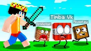 ¡ESCONDITE EXTREMO en BLOQUES de MINECRAFT! 😂 El escondite en Minecraft con mods