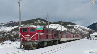 Festal train in Rhodope railway 3/3/2018