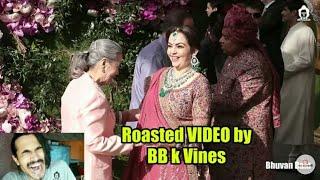 Akash Ambani Wedding Roast by BB ki vines (BHUVAN BAM)