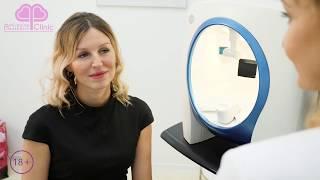 Диагностика кожи аппаратом Visia