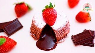 COULANT/VOLCÁN DE CHOCOLATE   LAVA CAKE   MOLTEN CAKE   MIS PASTELITOS