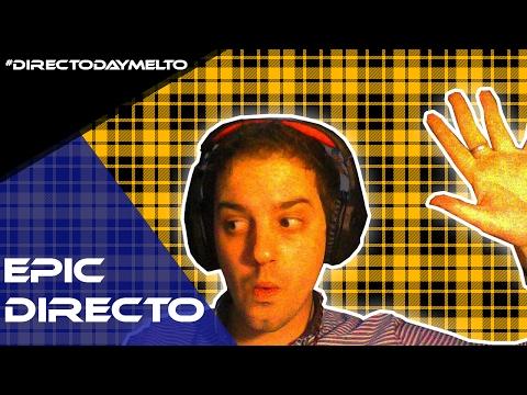 Epic Directo daymelto clash royale, geometry dash y karaoke!