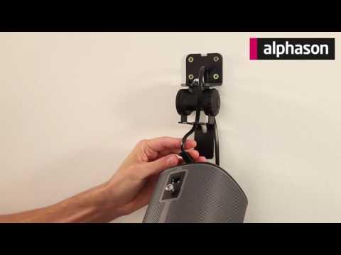Alphason Designs Sonos Play 1 Wall Bracket Mount Youtube
