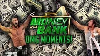 The Best OMG! Moments In WWE Money In The Bank History / Los Mejores Momentos OMG! En  MITB