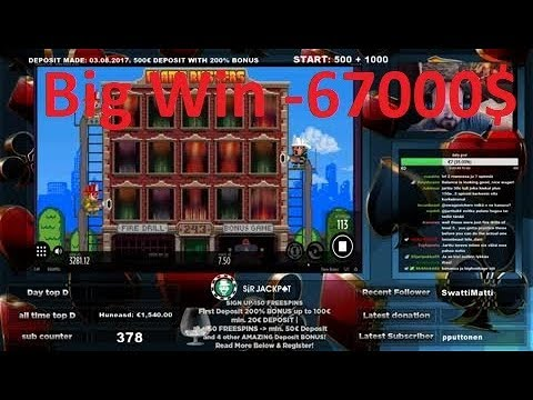 Jarttu84 - online casino stream - 1400EURO GIWEAWAY on STREAM!!! FOLLOW = GET 10$