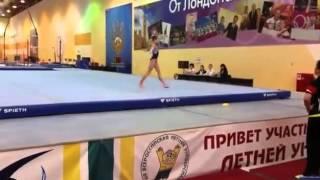 Viktoria Panchuk/Виктория Панчук FX 7 March 2016