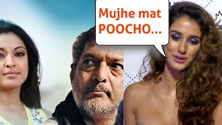 Disha Patani's Insensitive Reply On Tanushree Dutta Nana Patekar controversy