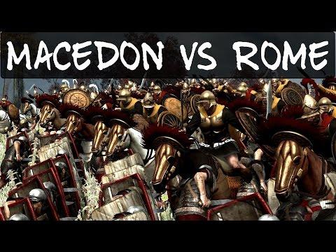 Total War Rome 2 Online Battle 127 Macedon vs Rome