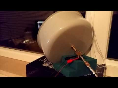 Cooking pot L band antenna