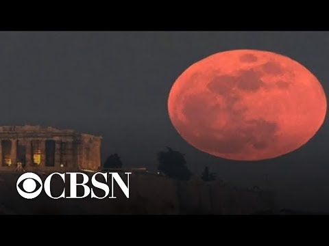 """Super blood wolf moon"" to light up the sky"