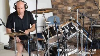 Drums recorded with the iSK Pro Mic bundle, Never Speak Never Mind