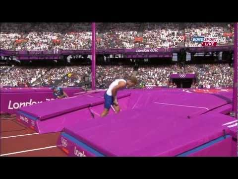 Kevin Mayer: Epic jump on London 2012 Olympics