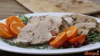 Turkey Recipes - How To Make Slow Cooker Boneless Turkey Breast