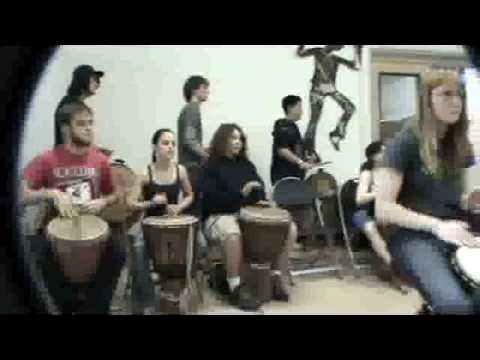 Part II of a Dambe Project Residency at City High School in Tucson Arizona 2008