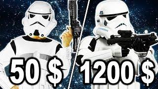 КОСТЮМ ШТУРМОВИКА ЗА 50$ ПРОТИВ КОСТЮМА ЗА 1200$ || ДОРОГО VS ДЕШЕВО ТЕСТ || Звездные войны костюмы