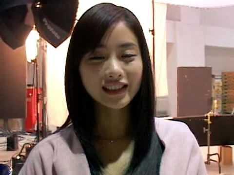 (石原さとみ)Ishihara Satomi in 2009.02 Glico 牧場しぼり CM Making