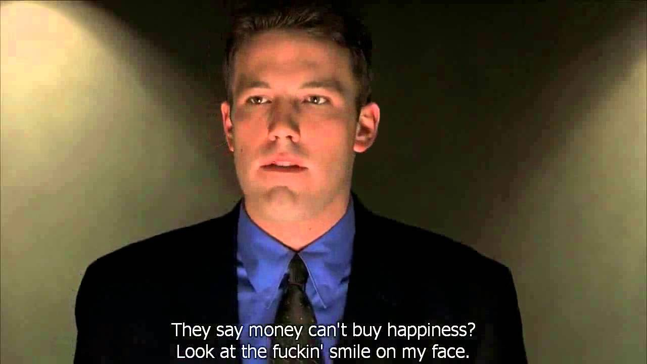Boiler Room Quotes Inspiration The Boiler Room Ben Affleck Speech  Youtube