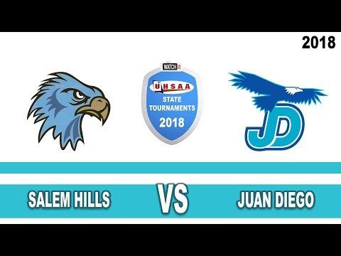 4A Boys Basketball: Salem Hills vs Juan Diego High School UHSAA 2018 State Tournament Championship