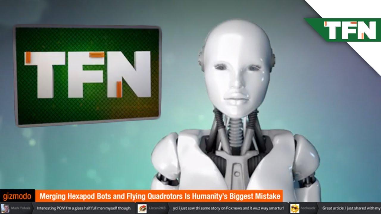 Risultati immagini per robot news