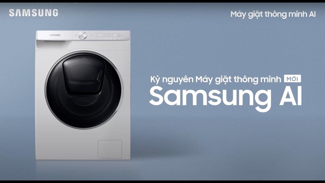 Samsung AI: Kỷ nguyên máy giặt thông minh mới