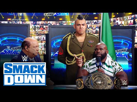 Crews addresses Black's involvement in title defense: WWE Talking Smack, May 22, 2021