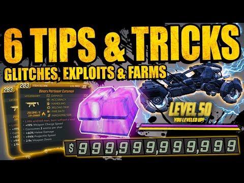Borderlands 3: 6 INSANE TIPS & TRICKS - EXPLOITS, GLITCHES & FARMS - Duplicate Items, Farming & More