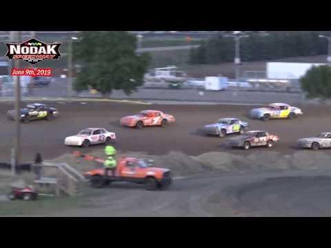 Nodak Speedway IMCA Hobby Stock Dash for Cash (6/9/19)