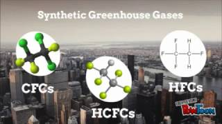 Climate Change: CFCs, HCFCs, and HFCs In The Atmosphere