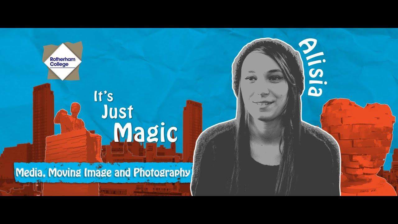 Alisia - Rotherham College - Media, Moving Image & Photography