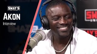 Akon Talks Black Wealth Tips, New Labels and Music | SWAY'S UNIVERSE