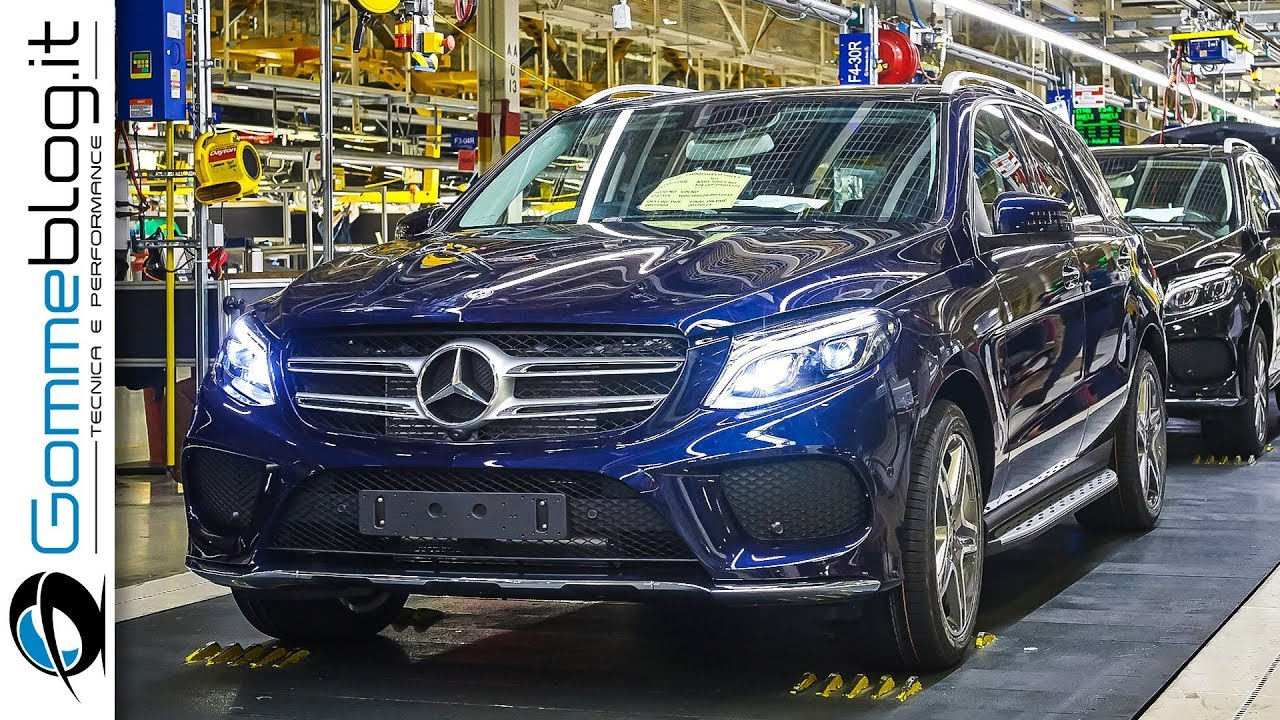 High Quality Mercedes Benz GLE + GLS | Car Factory HOW ITu0027S MADE Assembly