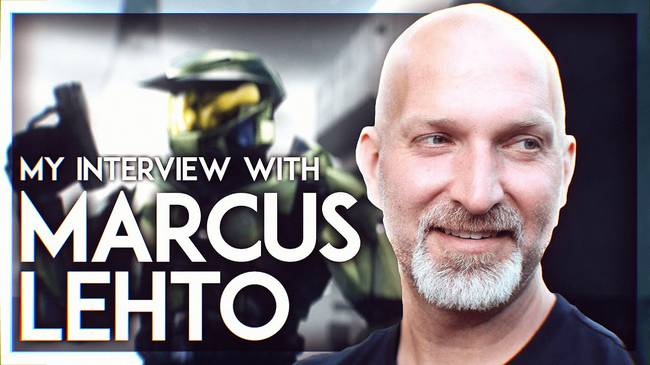 TALKING TO MARCUS LEHTO (Co-Creator of Halo) ABOUT HALO INFINITE, joining 343, Bungie's Halo 4 +MORE