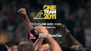 Qantas Wallabies - One Team 2011