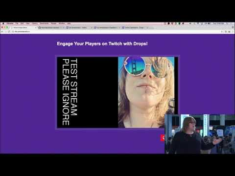 AWS re:Invent Launchpad 2017 - Twitch Developer Chat: Drops Demo - Lego Loot Crate Edition