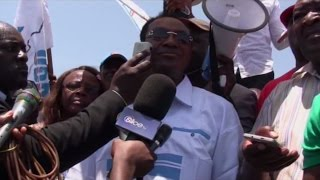 BRUNO TSHIBALA AVEC LES COMBATTANTS DE L'UDPS