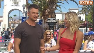 Josh Duhamel Talks 'Spaceman,' Fergie's 'M.I.L.F. $,' & Son Axl's First Baseball Game