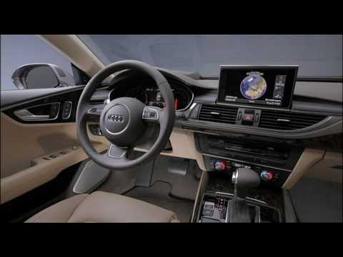 all new audi a7 sportback 2011 interior youtube. Black Bedroom Furniture Sets. Home Design Ideas