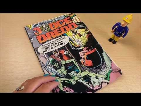 Review Of Classic Vintage Judge Dredd Classic American Comic Book