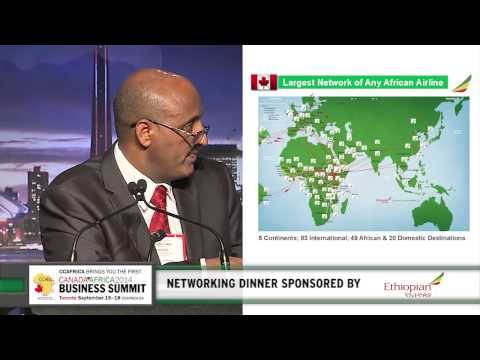 Tewolde Gebremariam - Ethiopian Airlines CEO, Keynote speech at CABS Networking Dinner