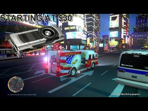 Grand Theft Auto IV - FDLC/FDNY - 25th day with the fire department! (SQUAD CO 61)